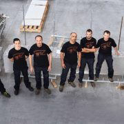Carpenteria metallica staff